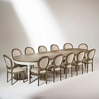Table de salle à manger AUDE, extensible, 4 à 16 couverts