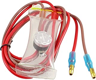 uxcell 冷蔵庫除霜 SPSTバイメタル 金属 プラスチック AC250V 10A -7摂氏度 KSD303-A
