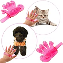 Trady Cleaning Hair Brush Comb Animal Massage Hair Removal Dog Grooming True Touch Shedding Brush Bath Gloves Glove for Do...