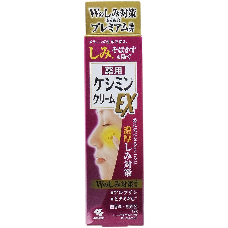 ケシミンクリームEX 12g × 4個セット