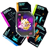 Hot Shots Basketball Drill Cards | 64 Waterproof Plastic Cards | Includes 45 Guided Drills, 9 Archetype...