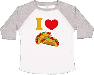 inktastic I Love Tacos Toddler T-Shirt