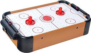 HAODELE Mini Mesa de Hockey de Aire Construcción de Madera MDF Un montón de Juegos Divertidos para Las Fiestas de cumpleaños