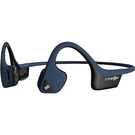 AfterShokz Air Open Ear Wireless Bone Conduction Headphones, Midnight Blue, AS650MB