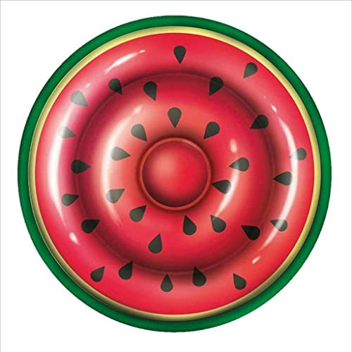 SZHSM Aufblasbare Sich hin- und herbewegende Reihen-Wassermelone-Größe Starke doppelte Sich hin- und herbewegende Insel-aufblasbares Elternteilkind Schwimmen