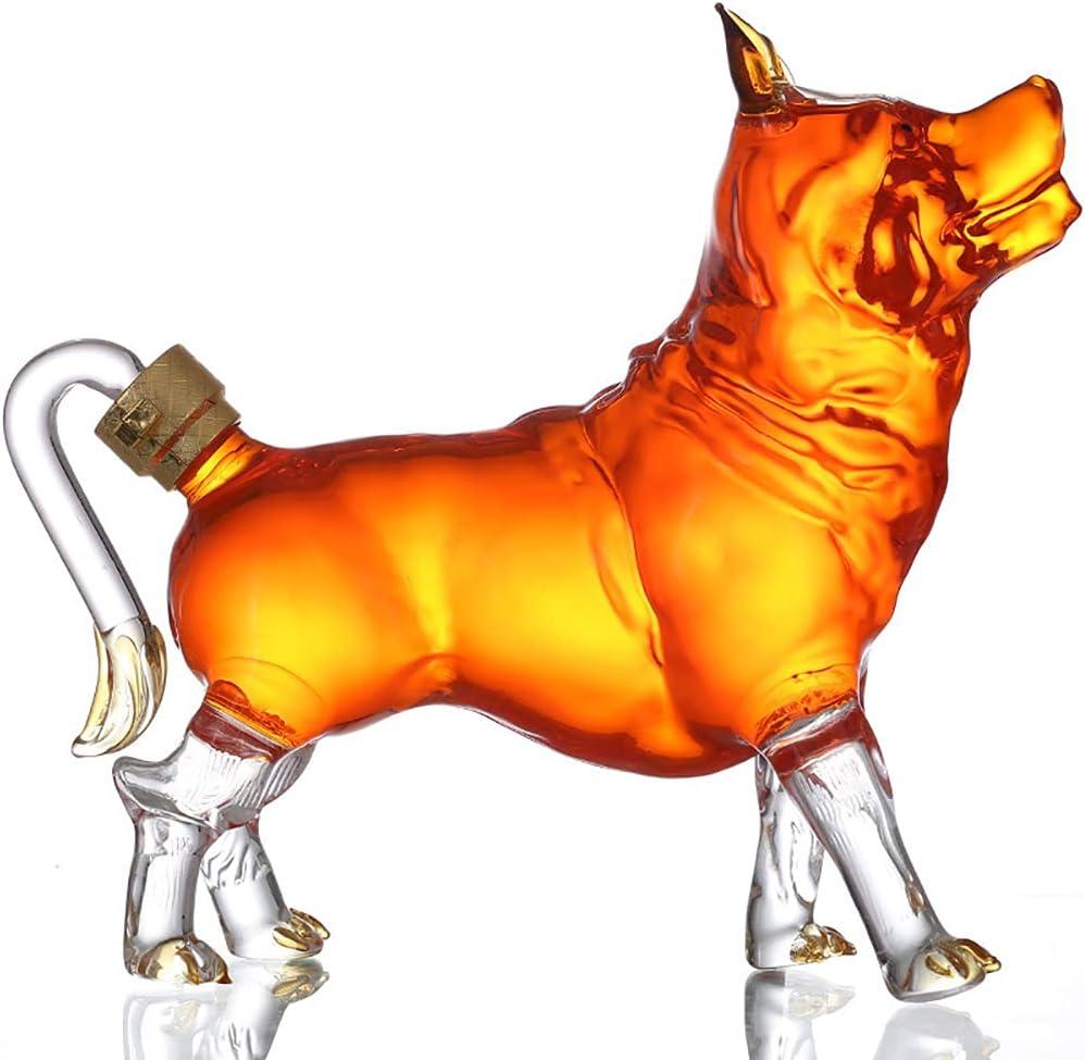 Dog Whiskey Decanter Ranking TOP9 Glass Zodiac Wine 1000ml Ranking TOP18 Li Animal