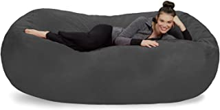 Sofa Sack - Plush Bean Bag Sofas with Super Soft Microsuede Cover - XL Memory Foam Stuffed Lounger Chairs for Kids, Adult...