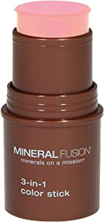 Mineral Fusion 3-in-1 Color Stick, Rosette.18 Ounce (Packaging May Vary)