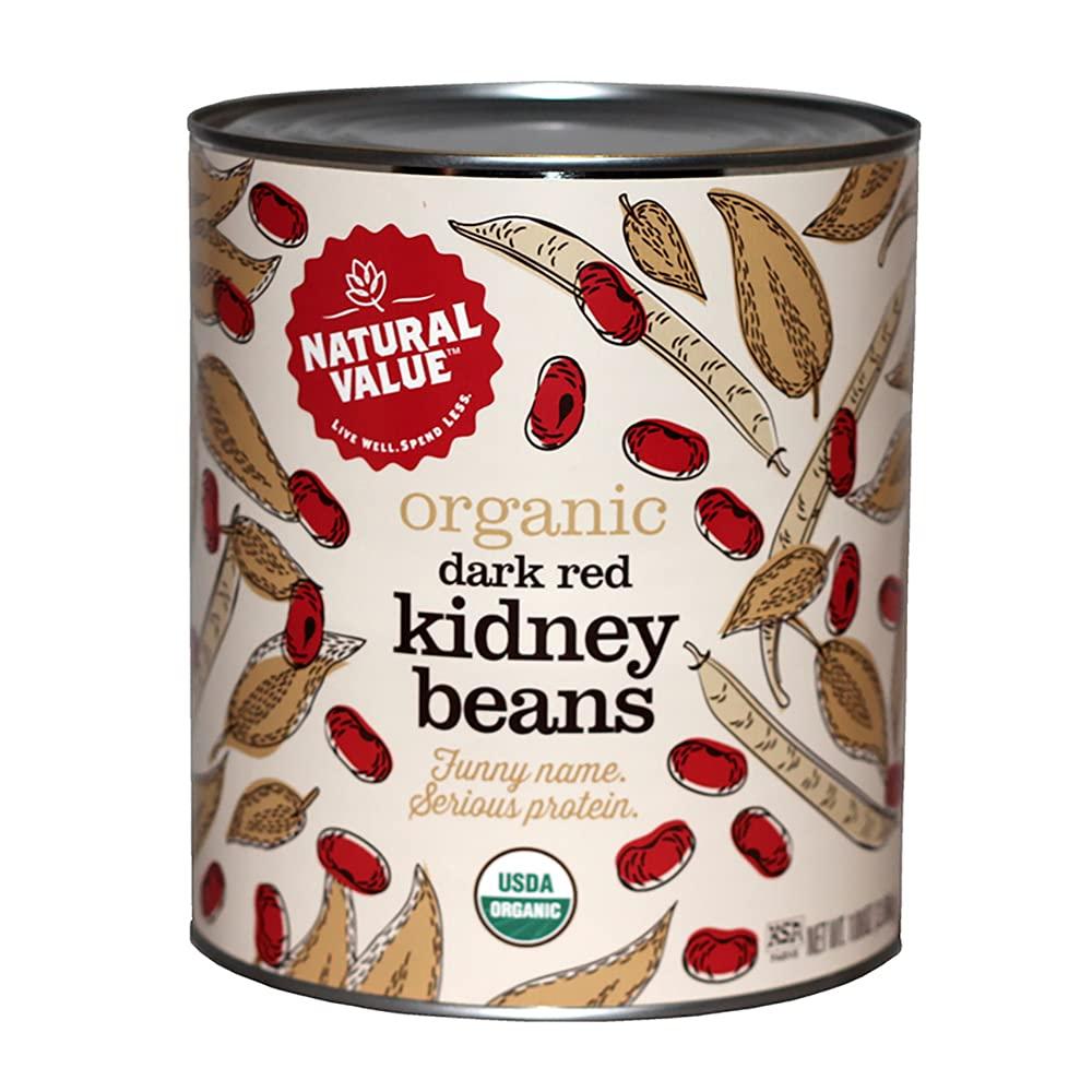 Department store 108-oz. Natural Value Food Service RED Over item handling DARK BEANS KIDNEY Size