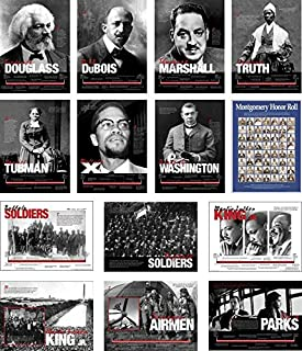 Prakken Publications Black History Poster Series - Includes All 14 Posters