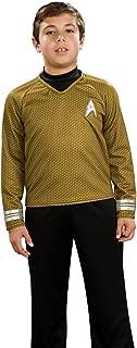 Rubie's Star Trek The Movie Child Deluxe Blue Shirt Costume