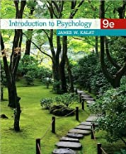 Introduction to Psychology (text only) 9th (Ninth) edition by J.W. Kalat