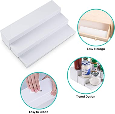 INOVERA (LABEL) ABS Plastic Spice Holder Rack, White