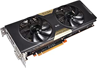 EVGA GeForce GTX 770 Superclocked with ACX Cooler 4 GB GDDR5 256-Bit Dual-Link DVI-I/DVI-D HDMI DP SLI Ready Graphics Card...