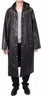 Vancool Moda duradero EVA Lluvia capa de lluvia del poncho Unisex Hombres Mujeres con capucha y mangas, reutilizable, port...