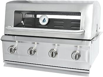 3 Embers Drop In 4 Burner Dual Fuel Grill