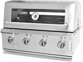 3 Embers Drop-In 4 Burner Gas Grill