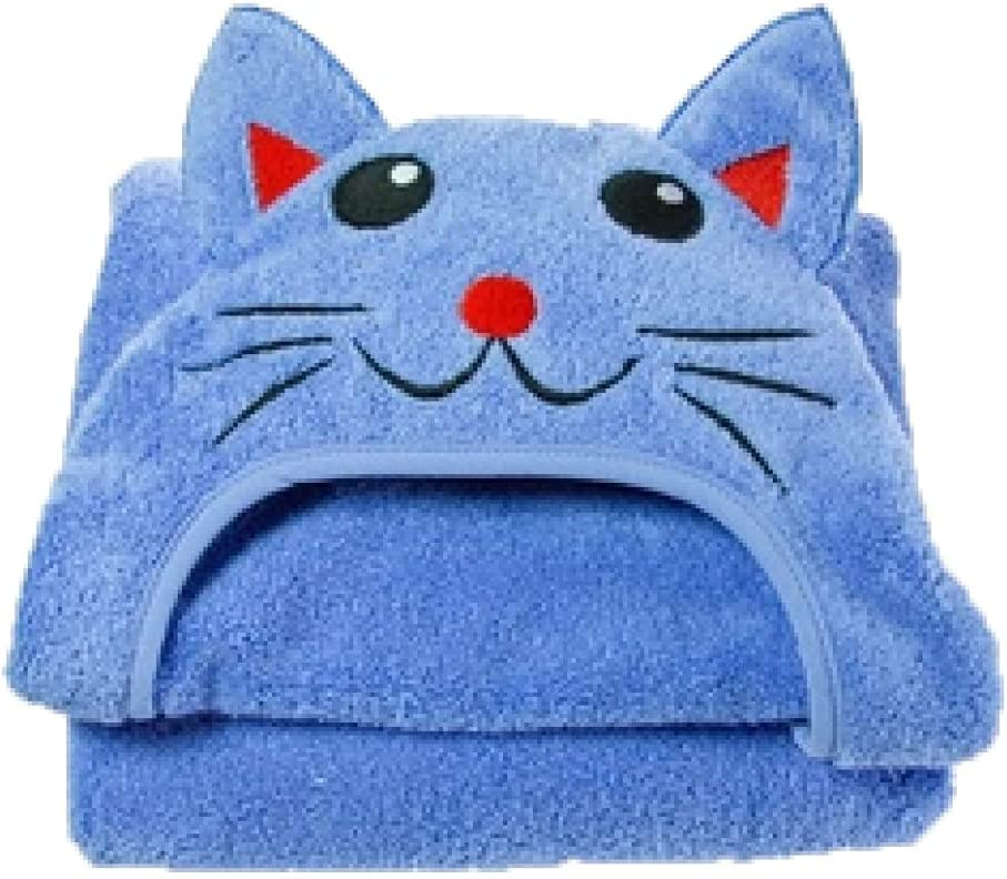 Some reservation Infant Tampa Mall Hooded Cat Towel Cotton