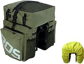Roswheel Bike Bag Bike Pannier Bag Bike Trunk Bag Waterproof, Bicycle Rear Rack Bag with Rain Cover for Cycling