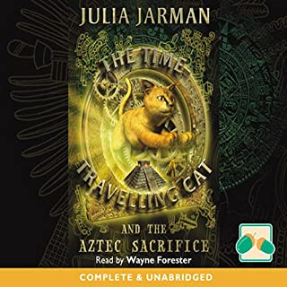 The Time Travelling Cat cover art