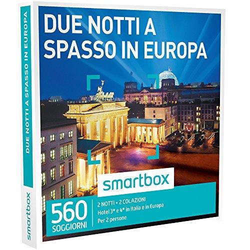 Smartbox - Due Notti a Spasso In Europa - 560 Soggiorni In Hotel 3* e 4*, Cofanetto Regalo