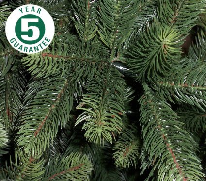 Best Artificial (TM 2,4M Premium Albero Di Natale Artificiale Con 2054Punte In Polietilene, Per Interno Di Natale Con 5Anno Di Garanzia