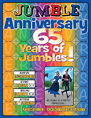 Jumble® Anniversary: 65 Years of Jumbles!