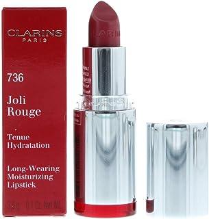 Clarins Joli Rouge Moisturising Lipstick 736 Pink Camellia, 3.5 g