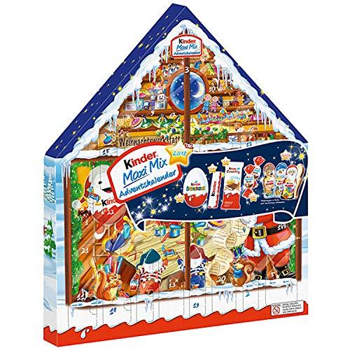 Calendrier De Lavent Kinder 343 G.Ferrero Kinder Maxi Mix Advent Calendar 2019 351g Styles May Vary
