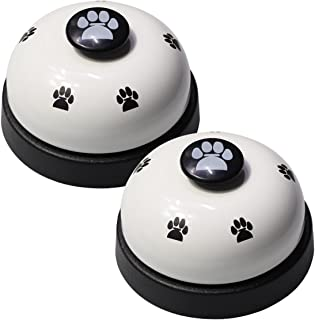 VIMOV Pet Training Bells, Set of 2 Dog Bells for Potty Training and Communication Device