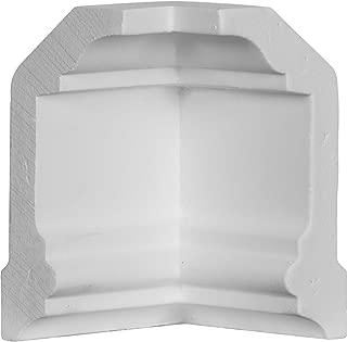 Ekena Millwork MIC04X02HO 2 1/4-Inch P x 4-Inch H Inside Corner for Moulding MLD04X02X04HO