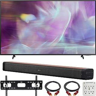 Samsung QN60Q60AAFXZA 60 Inch QLED 4K UHD Smart TV 2021 Bundle with Deco Home 60W 2.0 Channel Soundbar, 37-100 inch TV Wal...