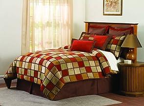 Lush Decor Window Pane 8-Piece Comforter Set, Queen