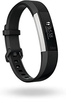Fitbit Alta HR Activity & Fitness Tracker with Heart Rate, 7 Day Battery & Sleep Tracking, Black, Small