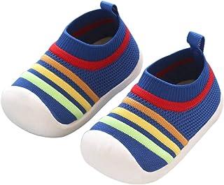 DEBAIJIA Scarpe per Bambini 1-3T Baby Walking Sneaker Ragazze Ragazzi Suola Morbida Mesh Antiscivolo Traspirante Leggero T...