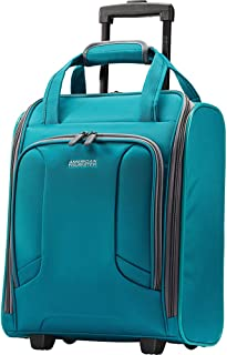 (teal) - American Tourister 4 Kix Rolling Tote