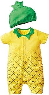 Jojobaby Baby Unisex 2Pcs Baby Clothes Fruit/Animal Bodysuit with Hats