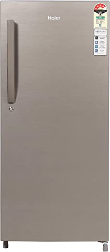 Haier 195 L 4 Star Direct-Cool Single-Door Refrigerator (HED- 20CFDS, Dazzle Steel) 1