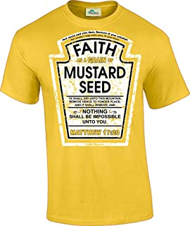 Hip Together Faith as a Grain of Mustard Seed Christian Parody T-Shirt
