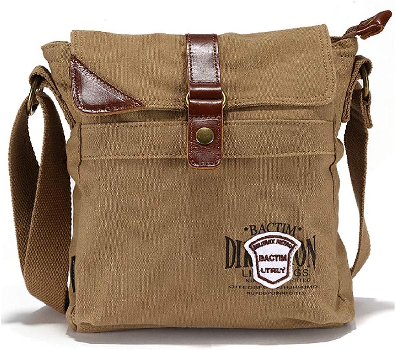 PLL Canvas Bag Schultertasche Messenger Bag Herren Kunst Retro Casual Sporttasche Herren Tasche