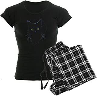 Black Cat Women's Dark Pajamas Women's PJs