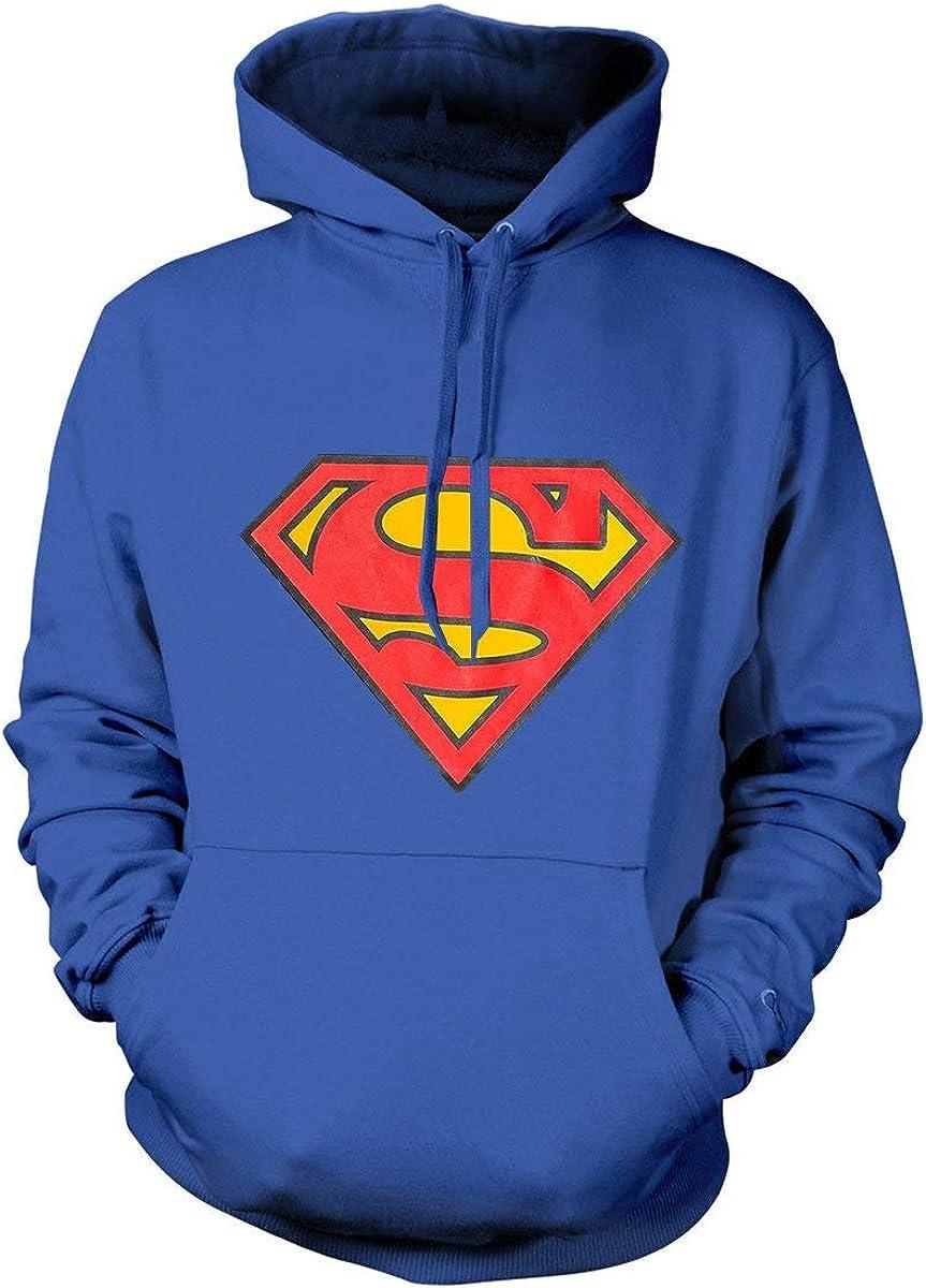 Superman Hoodie DC Popular popular Comics Classic Logo Pullover Movie Dealing full price reduction Superhero