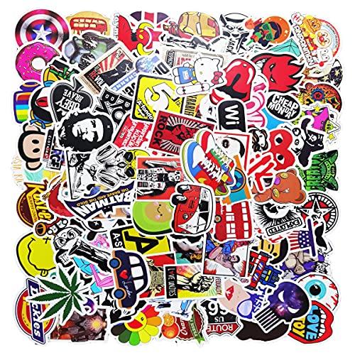 Laptop Stickers 100 Pcs Waterproof Vinyl Cute Cool Stickers