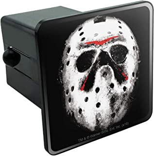 Graphics and More Friday The 13th Jason Mask Tow Trailer Hitch Cover Plug Insert