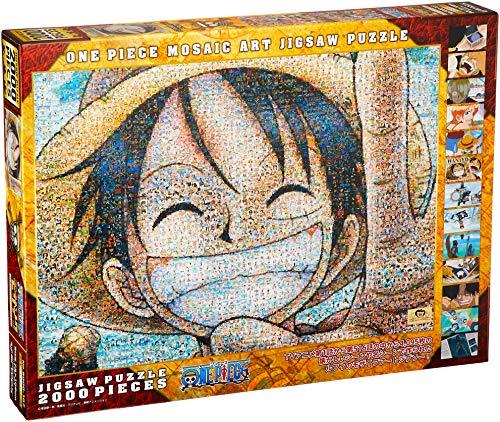 One Piece Luffy 2000 piece jigsaw puzzle Mosaic Art (73x102cm) 2000-107 by ensky