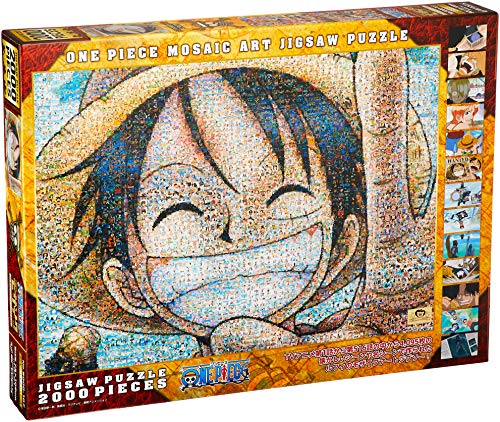 Ensky One Piece Luffy 2000 Piece Jigsaw Puzzle Mosaic Art (73x102cm) 2000-107 by