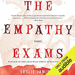 The Empathy Exams audiobook cover art