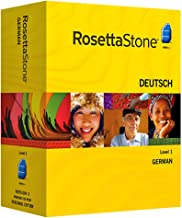 Rosetta Stone Version 3: German Level 1 with Audio Companion