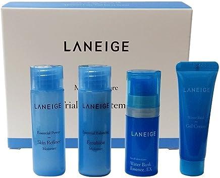 Laneige KOREA Cosmetics 2014 Basic Step Moisture Trial Kit - Pack of 4