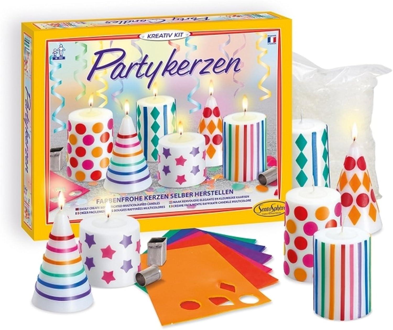 Kreativ-Kit Partykerzen B079TZC4MT   Merkwürdige Form